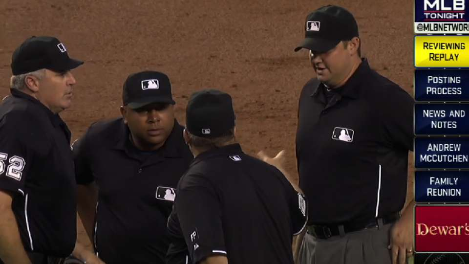 The Latest on instant replay
