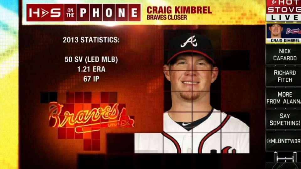 Craig Kimbrel on Hot Stove