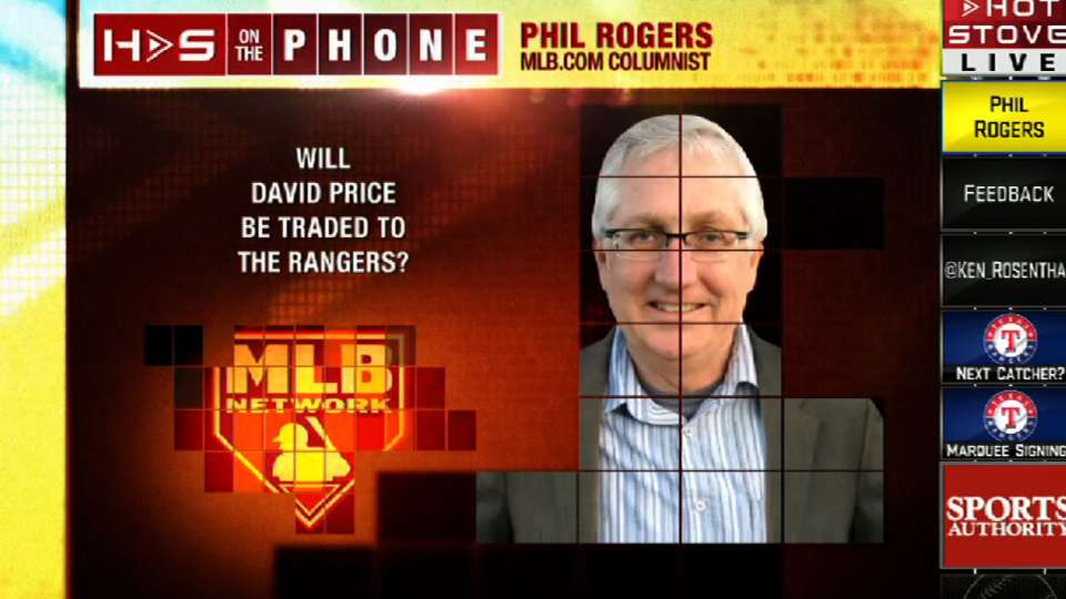 Phil Rogers on Hot Stove