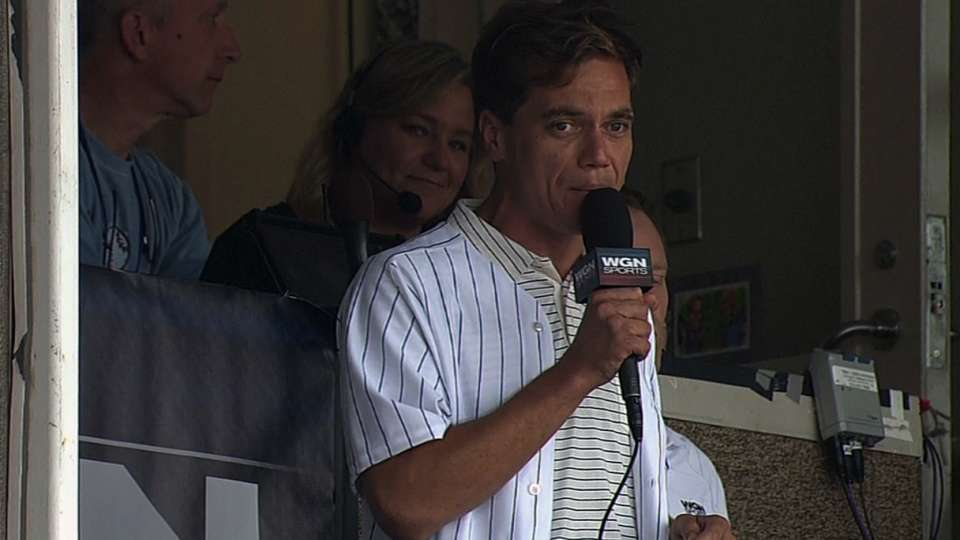 Shannon joins Cubs' booth