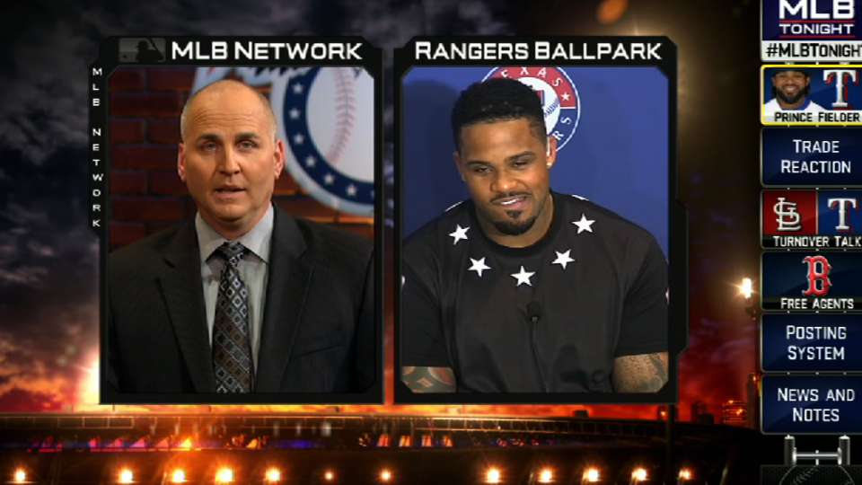 Fielder chats with MLB Tonight