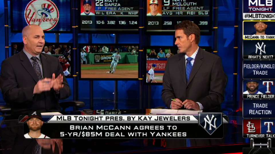 MLB Tonight on McCann to Yankees