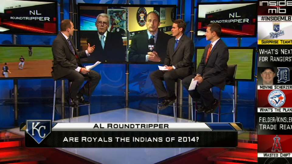 'AL Roundtripper' on Inside MLB