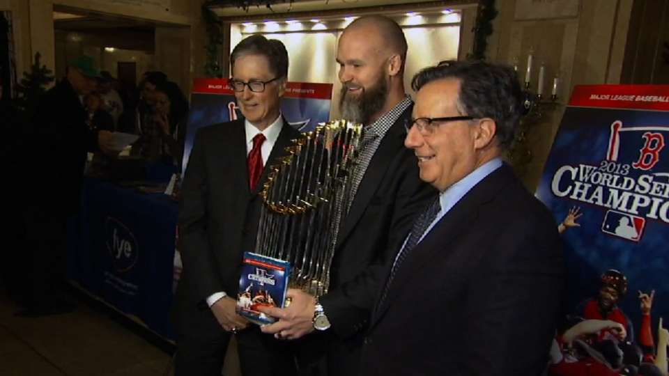 Red Sox unveil 2013 WS Film