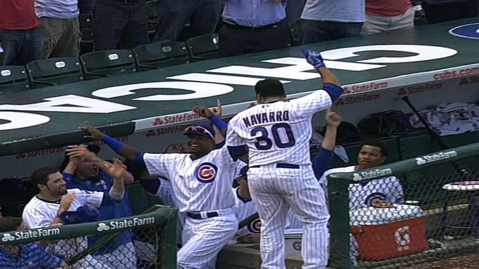 Navarro's three homers