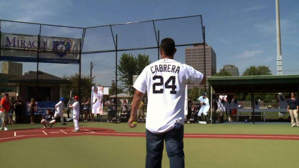 Tigers' Miracle League