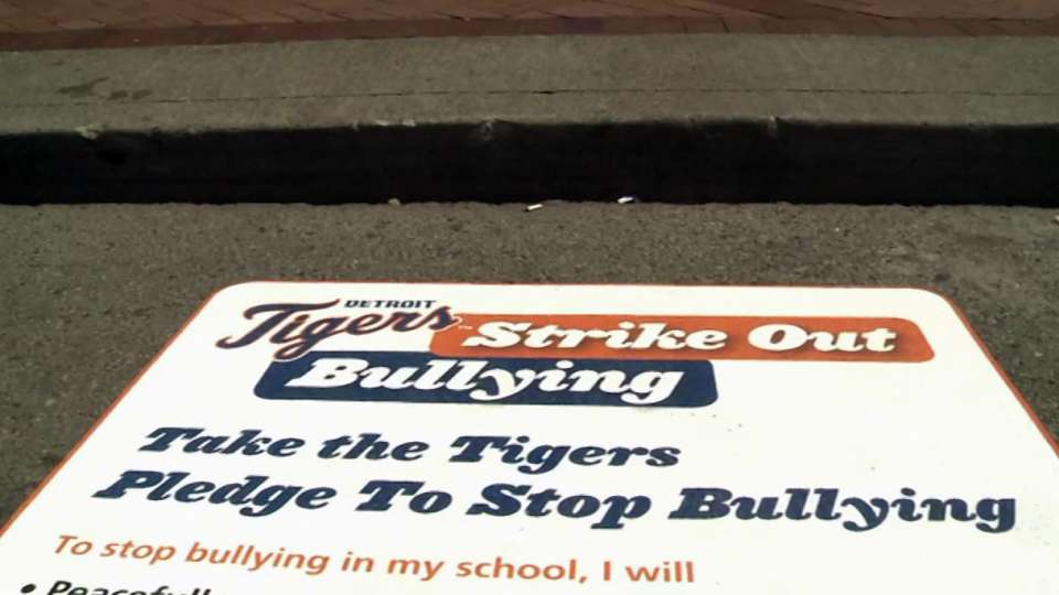 Tigers strike out bullying