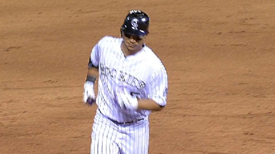 CarGo's three-homer game