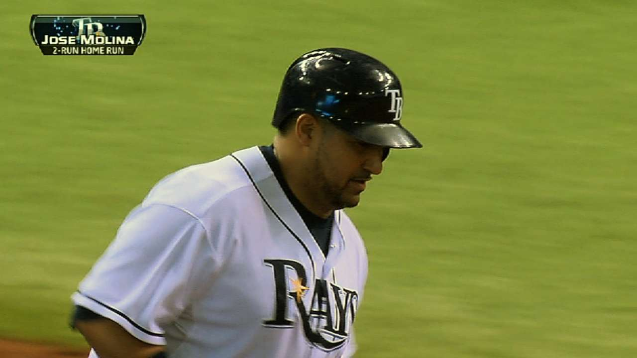 Rays boast pitch-framing specialists in Ryan Hanigan, Jose Molina ...