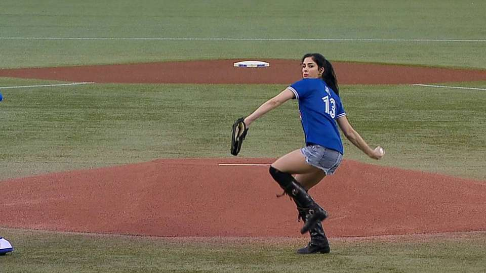 Sarah Silverman's first pitch