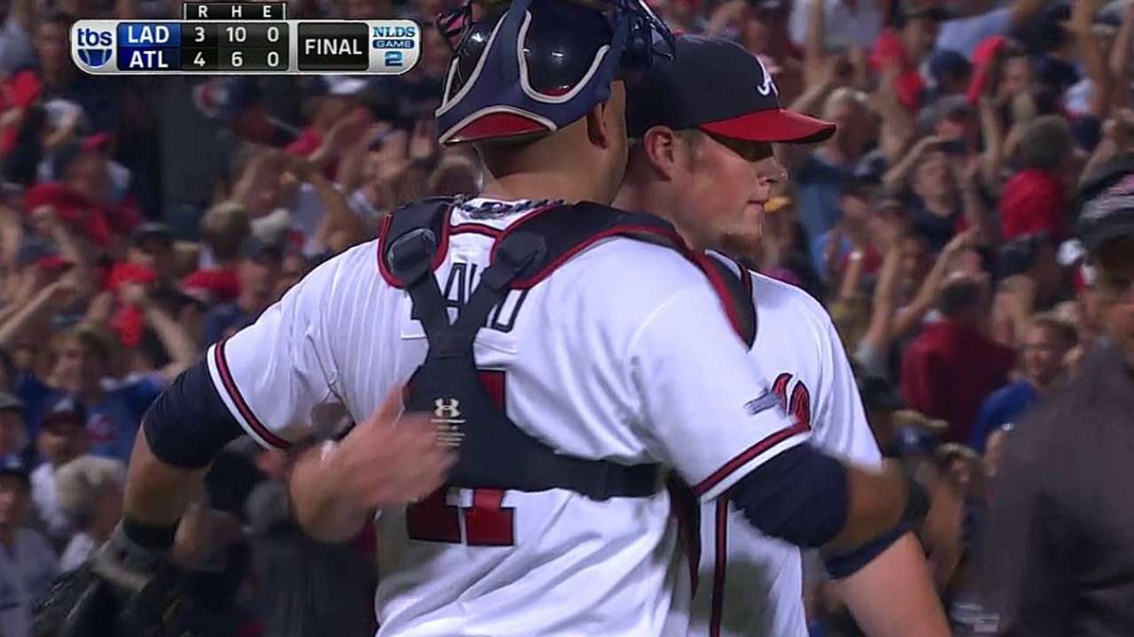 Did you know? National League Division Series Game 2: ATL 4, LA 3