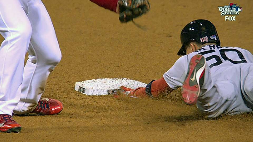 Berry's eighth-inning steal