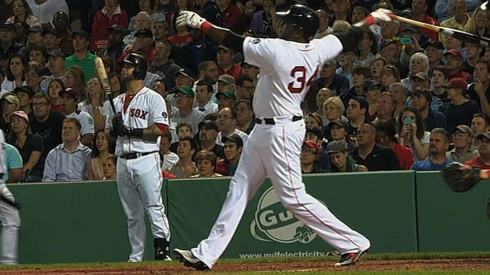 Red Sox's longest homers of 2013
