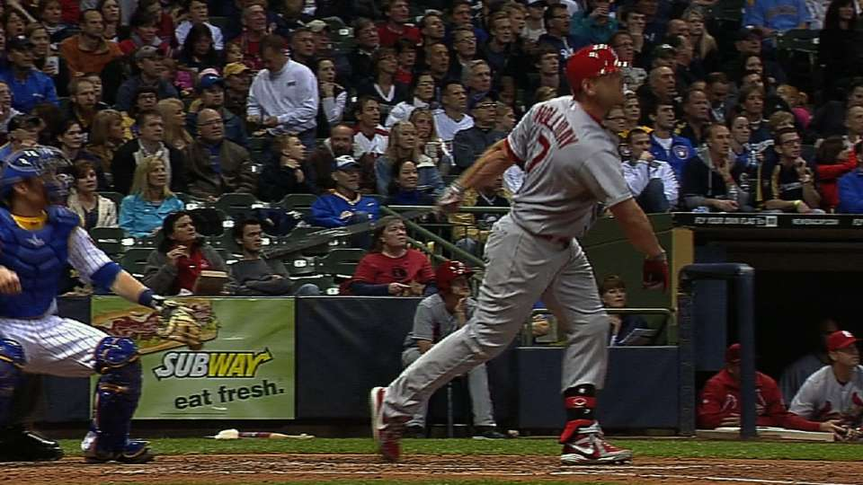 Cards' longest homers of 2013