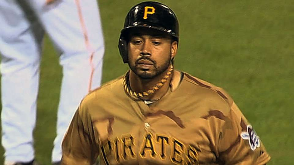 Pirates' longest homers of 2013