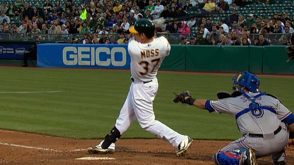 A's longest home runs of 2013