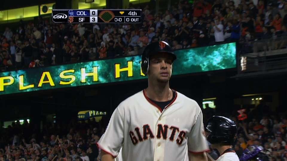 Belt's mammoth two-run homer