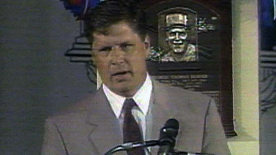 Seaver enters the Hall of Fame