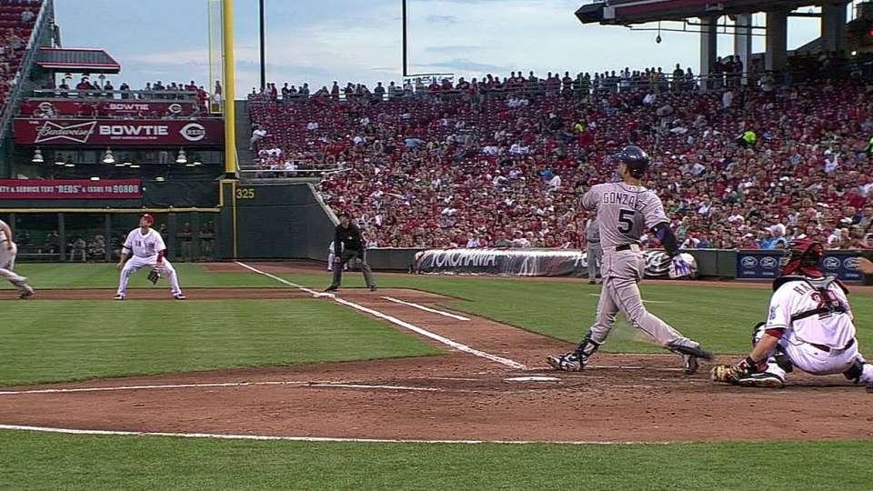 CarGo's second home run