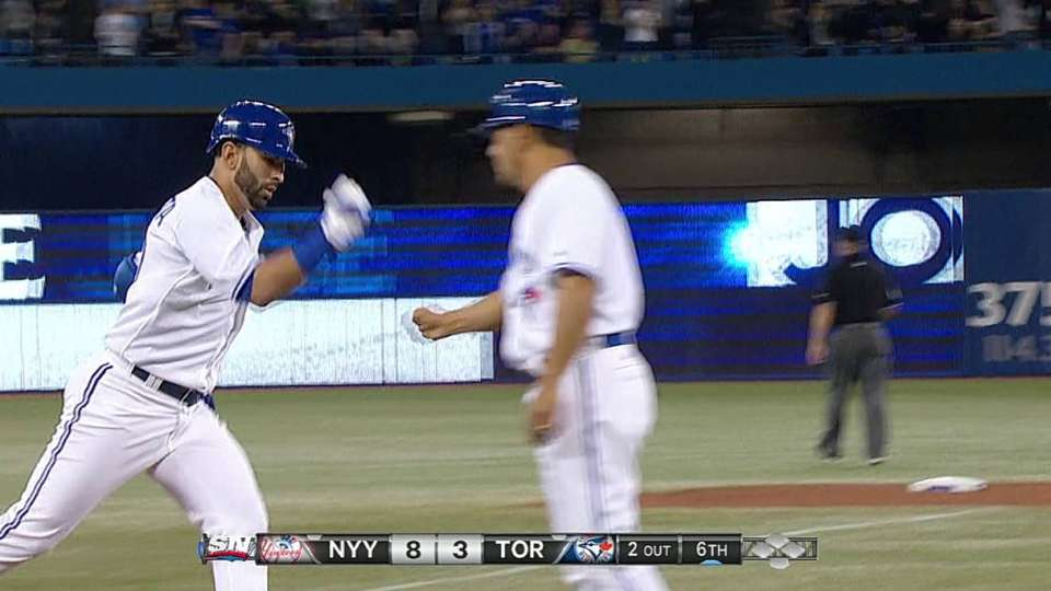 Bautista's two-run homer