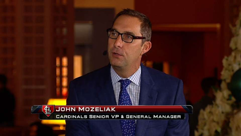 John Mozeliak joins MLB Tonight