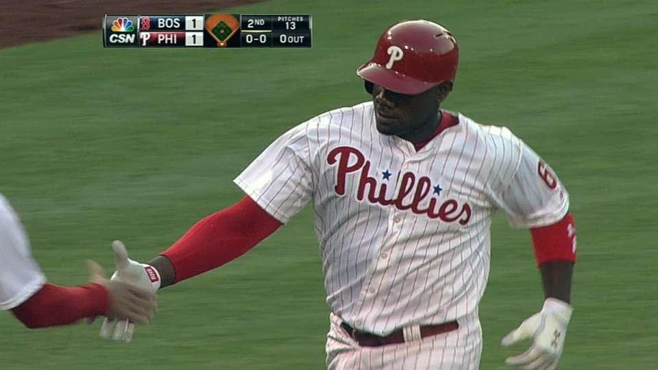 Phillies crank four homers