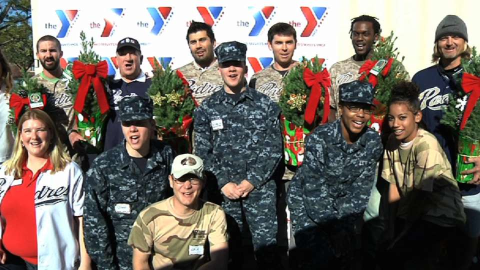 Padres at Armed Services YMCA