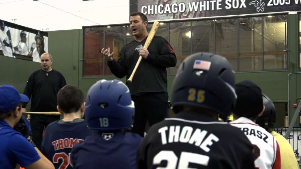 Thome serves youth in Chicago