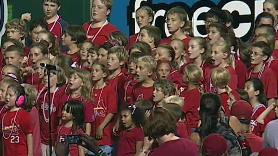St. Paul's Lutheran School sings