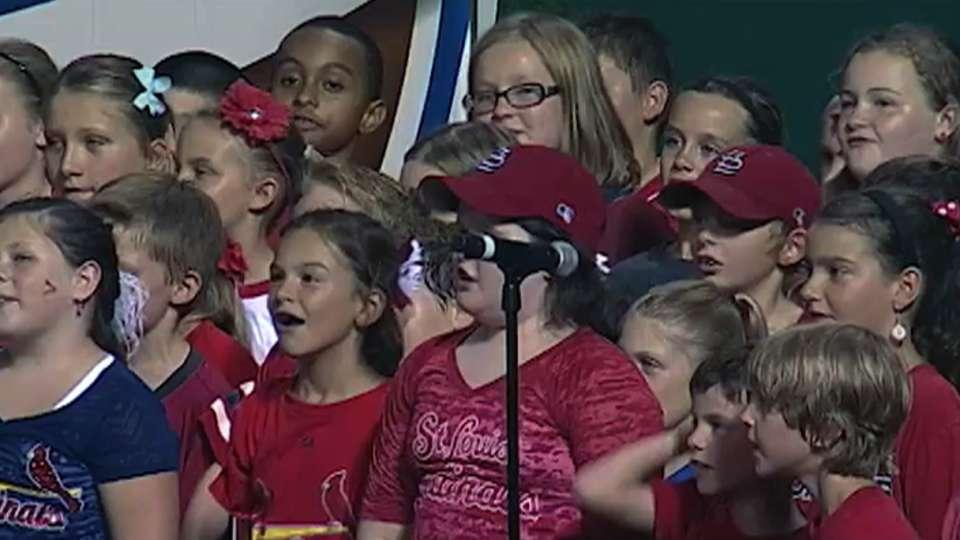 Evangelical School Choir sings