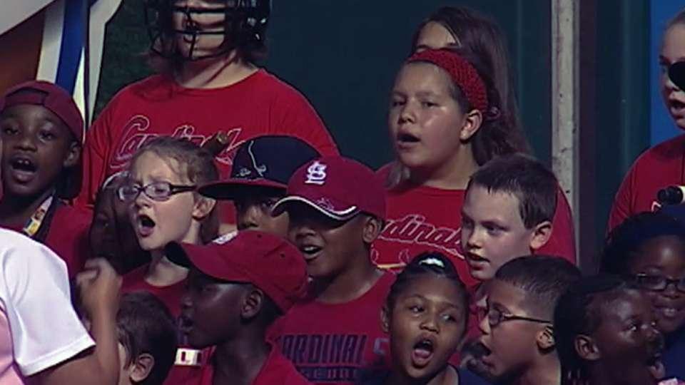 Belle Valley Middle School sings