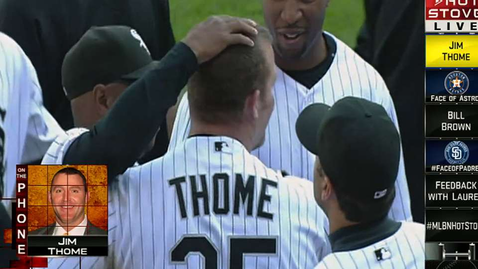 Thome on Hot Stove