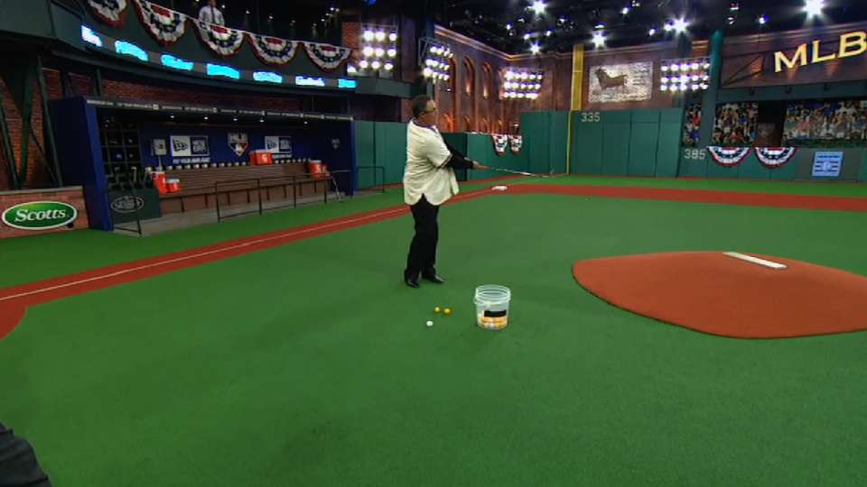 Chipping contest in Studio 42