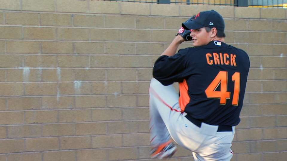 Top Prospects: Crick, SF