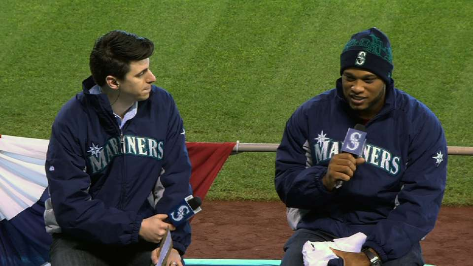 Mariners FanFest: Robinson Cano
