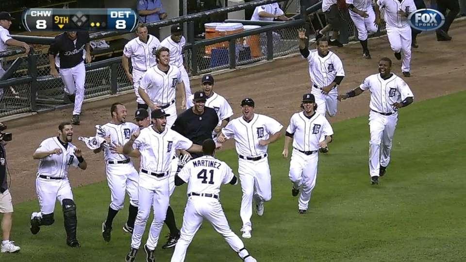 Cabrera's walk-off homer