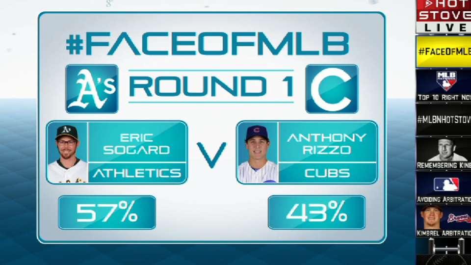 Face of MLB: Sogard vs. Rizzo