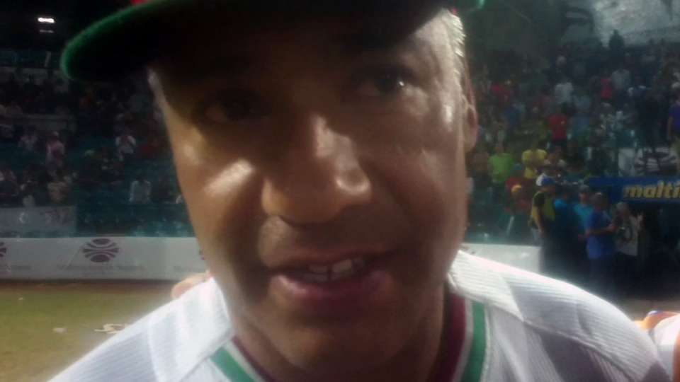 Carrillo manager campeon