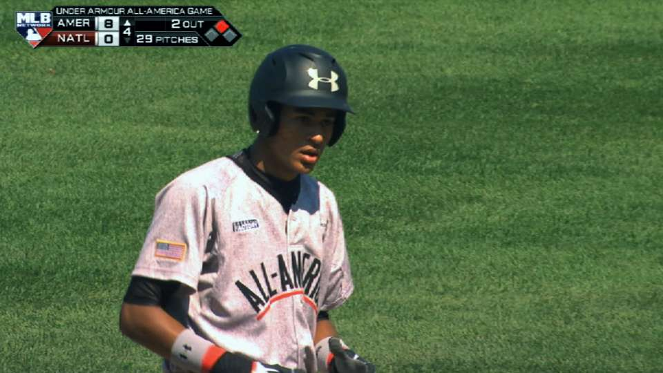2014 Draft: Jacob Gatewood, SS