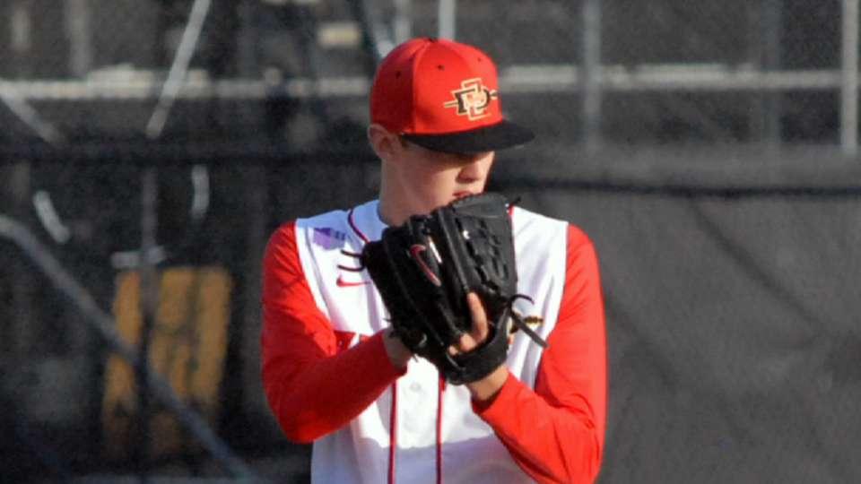 2014 Draft: Michael Cederoth, P