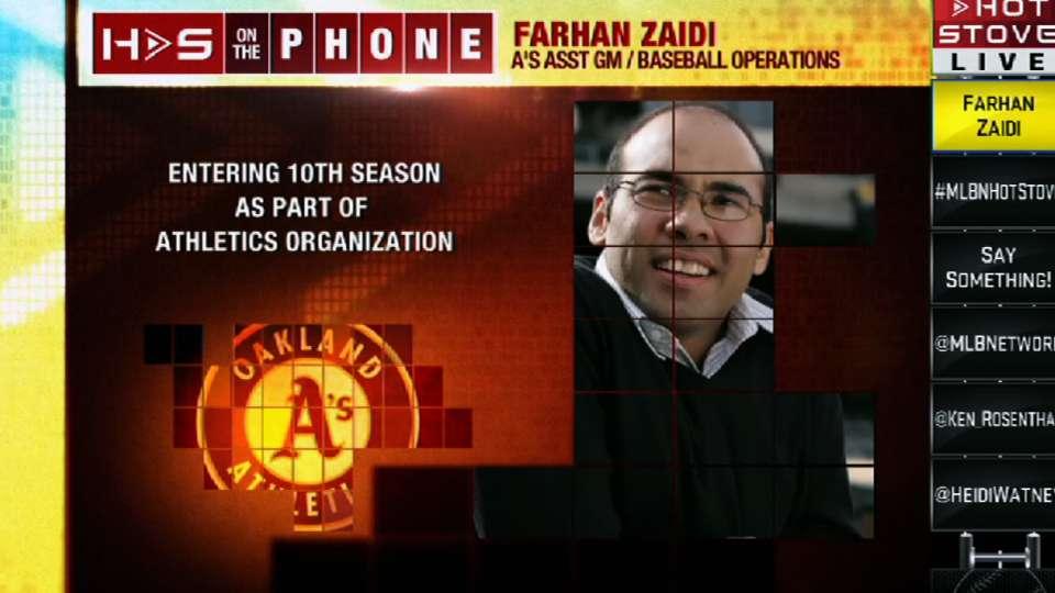 Farhan Zaidi joins Hot Stove