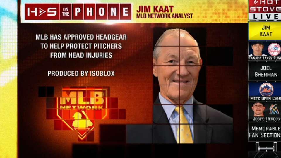 Jim Kaat Calls into Hot Stove