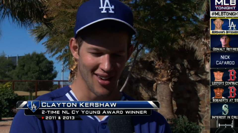 Kershaw chats with Sam Ryan