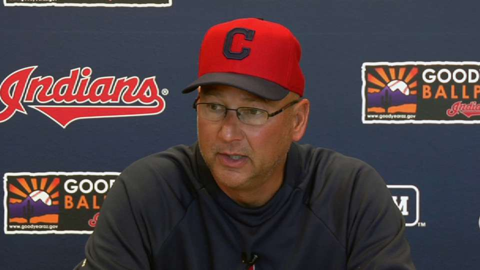 Indians prep for Spring Training