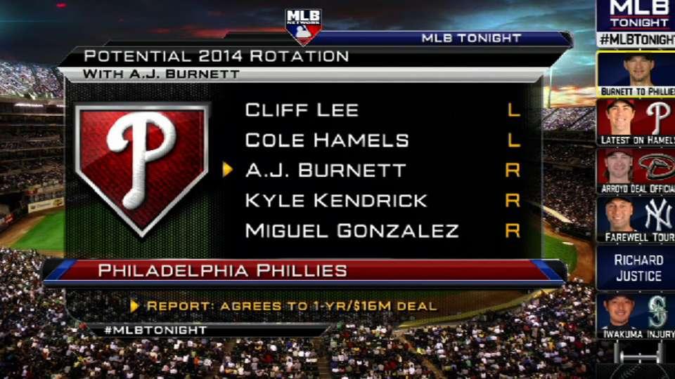 Burnett joins the Phillies