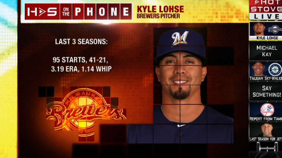 Kyle Lohse joins Hot Stove