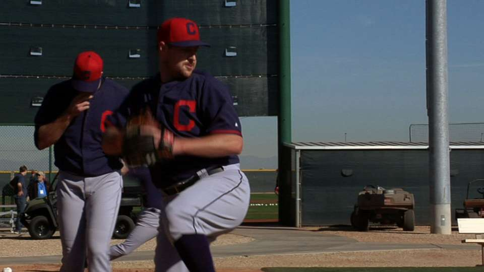 Francona on young arms, Brantley