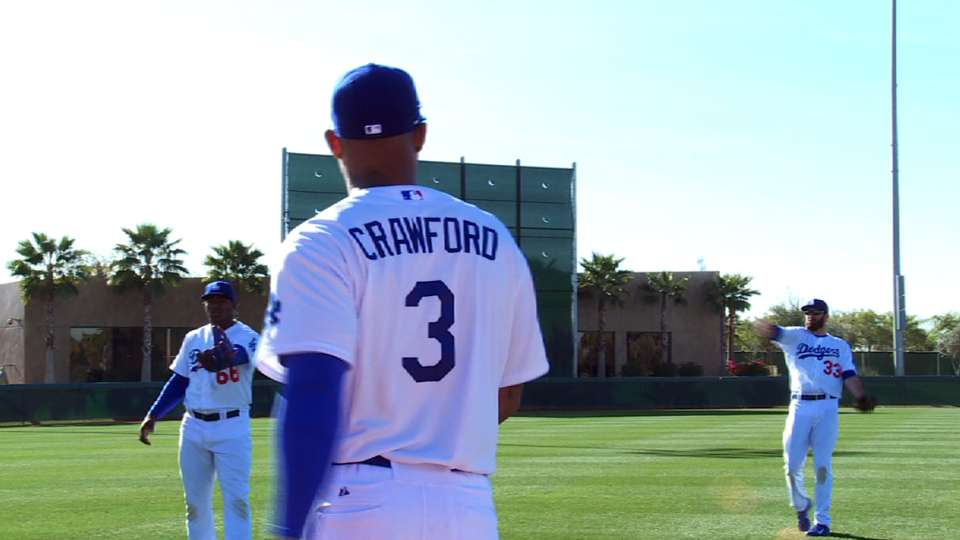 Crawford on outfield competition