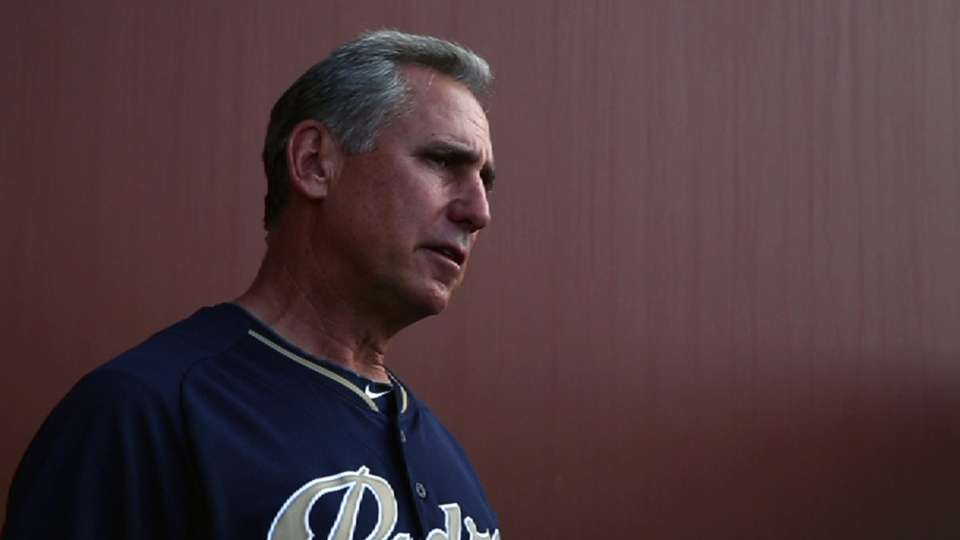 Black on Padres' young arms