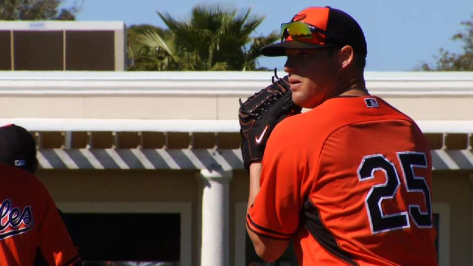 Norris on first camp with O's